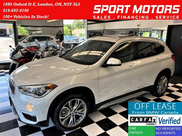 2018 BMW X1 xDrive28i+GPS+Roof+LED Lights+Camera+CLEAN CARFAX
