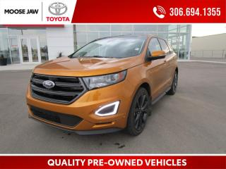 Used 2015 Ford Edge Sport **WINTER TIRES AND RIMS INCLUDED**REMOTE START**CLEAN** LOW KM** for sale in Moose Jaw, SK