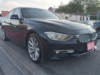 Used 2013 BMW 3 Series LEATHER-TINTED-NAVI-SUNROOF-BLUETOOTH-ALLOYS for sale in Scarborough, ON