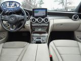 2017 Mercedes-Benz C300 4MATIC, PAN ROOF, LEATHER SEATS, NAVI, BACKUP CAM