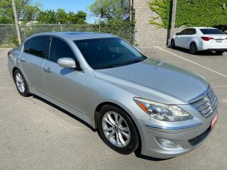 Used 2012 Hyundai Genesis ** HTD LEATH, BLUETOOTH, SNRF ** for sale in St Catharines, ON