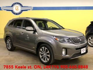 Used 2015 Kia Sorento SX, AWD, Leather, Pan Roof, Blind Spot & more for sale in Vaughan, ON