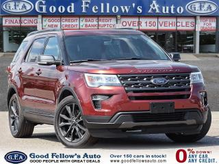 Used 2018 Ford Explorer XLT MODEL 4WD, PANROOF, NAVI, 7PASS, BACKUP CAMERA for sale in Toronto, ON