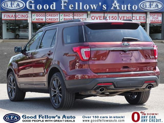 2018 Ford Explorer XLT MODEL 4WD, PANROOF, NAVI, 7PASS, BACKUP CAMERA
