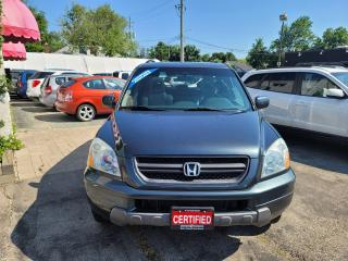 Used 2005 Honda Pilot EX-L with NAVI for sale in Milton, ON