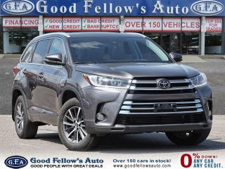 Used 2018 Toyota Highlander XLE 8 PASS, LEATHER SEATS, SUNROOF, BACKUP CAMERA for sale in Toronto, ON
