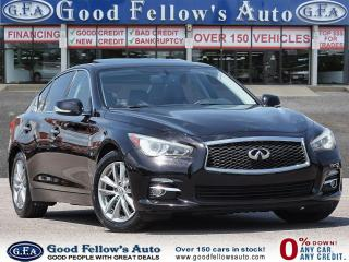 Used 2014 Infiniti Q50 Good Or Bad Credit Car Loans ..! for sale in Toronto, ON