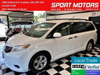 Used 2013 Toyota Sienna Rear A/C+Cruise+New Tires & Brakes for sale in London, ON