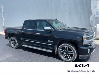 Used 2017 Chevrolet Silverado 1500 High Country Crew Cab | Sunroof | Navigation for sale in Stratford, ON
