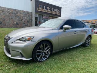 Used 2016 Lexus IS 300 F-SPORT 3 AWD NAVI REAR VIEW CAM BSM for sale in North York, ON