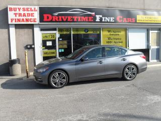 Used 2015 Infiniti Q50 for sale in North York, ON