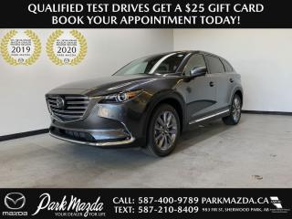 New 2021 Mazda CX-9 GT CAPTAIN CHAIRS for sale in Sherwood Park, AB