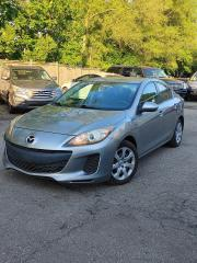 Used 2012 Mazda MAZDA3 GX~NO ACCIDENT ~CERTIFIED ~EXCELLENT CONDITION for sale in Mississauga, ON