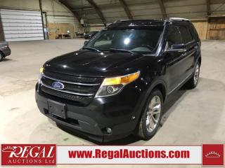 Used 2012 Ford Explorer Limited 4D Utility AWD for sale in Calgary, AB