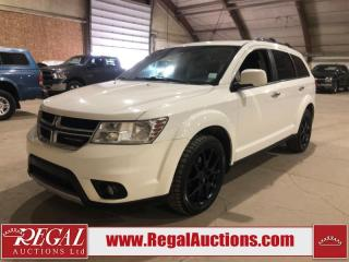 Used 2015 Dodge Journey R/T 4D Utility for sale in Calgary, AB