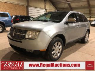 Used 2007 Lincoln MKX 4D Utility AWD for sale in Calgary, AB