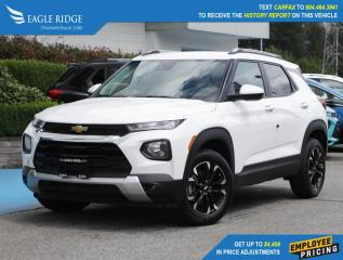 New 2021 Chevrolet TrailBlazer LT Apple CarPlay & Android Auto, Backup Camera for sale in Coquitlam, BC