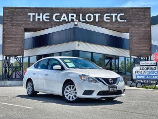 Used 2016 Nissan Sentra 1.8 S for sale in Sudbury, ON
