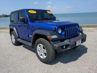 Used 2019 Jeep Wrangler Sport Low K's 2dr 4x4 Heated Seats Bluetooth for sale in Belle River, ON