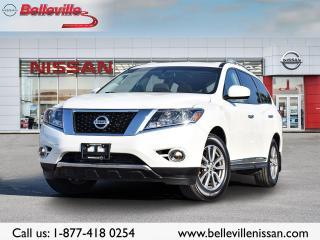Used 2016 Nissan Pathfinder SL 4WD 1 OWNER, LEATHER, SUNROOF, NAVIGATION for sale in Belleville, ON