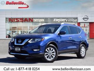 Used 2018 Nissan Rogue SV AWD, 1 OWNER, SUNROOF, NAVIGATION, CLEAN CARFAX for sale in Belleville, ON
