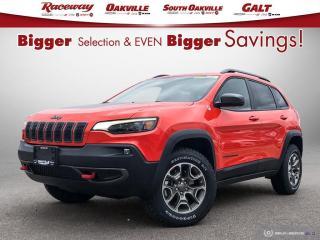 New 2021 Jeep Cherokee Trailhawk Elite for sale in Etobicoke, ON