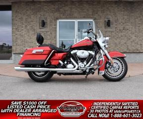Used 2013 Harley-Davidson ROAD KING 103 CU INCH, FLAWLESS 1 OWNER LOCAL BIKE, LOADED for sale in Headingley, MB