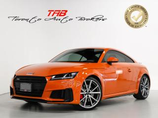 Used 2019 Audi TTS Coupe 2.0T I S-LINE I CAM I NAV I 1-OWNER for sale in Vaughan, ON