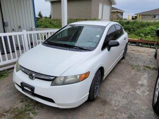 Used 2008 Honda Civic DX-G for sale in New Liskeard, ON