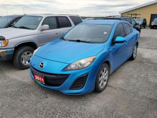 Used 2011 Mazda MAZDA3 GX for sale in New Liskeard, ON