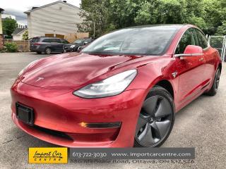 Used 2020 Tesla Model 3 Standard Range ENHANCED AUTO PILOT ($4500) & RED ( for sale in Ottawa, ON