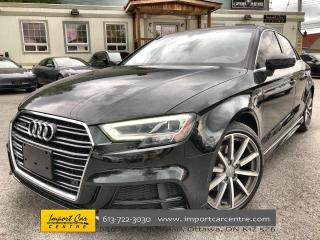 Used 2017 Audi A3 2.0T Technik S-LINE  LEATHER  ROOF  NAVI  B&O SOUN for sale in Ottawa, ON