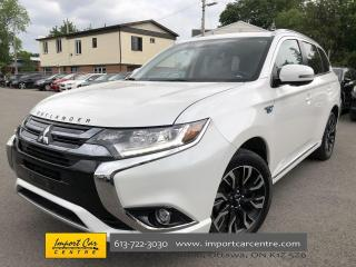 Used 2018 Mitsubishi Outlander Phev GT GT FULLY LOADED  ROCKFORD FOSGATE SOUND for sale in Ottawa, ON