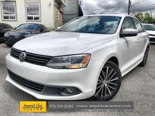 Used 2013 Volkswagen Jetta 2.5L Highline ALLOYS  LEATHER  ROOF  HTD SEATS for sale in Ottawa, ON