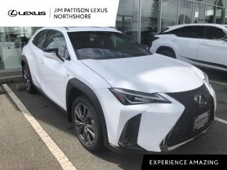 New 2021 Lexus UX 250H F Sport Series 1 for sale in North Vancouver, BC