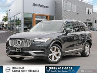 Used 2018 Volvo XC90 Hybrid T8 Inscription - LOCAL - ONE OWNER - NO ACCIDENTS for sale in North Vancouver, BC