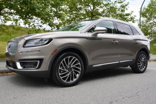 Used 2020 Lincoln Nautilus Reserve 2.0T AWD for sale in Vancouver, BC