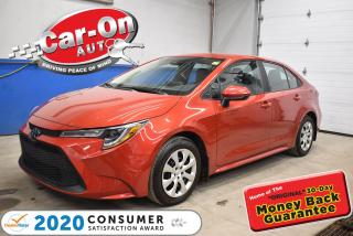 Used 2020 Toyota Corolla LE | LOW KMS | REMOTE STARTER |  BLIND SPOT SYSTEM for sale in Ottawa, ON