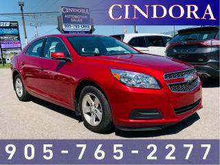 Used 2013 Chevrolet Malibu LT, Leather/cloth, Remote Start, Backup Cam for sale in Caledonia, ON