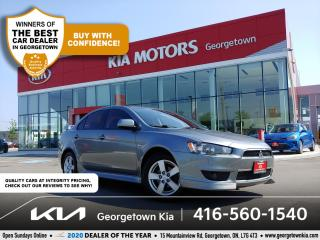 Used 2013 Mitsubishi Lancer SE | 1 OWNR | CLN CRFX | SUNROOF | HTD SEATS | B/T for sale in Georgetown, ON