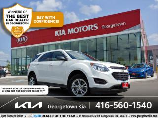 Used 2017 Chevrolet Equinox LS AWD | 1 OWNER | BU CAM | BT | ECO | ALLOYS| 61K for sale in Georgetown, ON