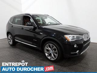 Used 2016 BMW X3 XDrive35i - AWD - Navigation - Climatiseur - Cuir for sale in Laval, QC