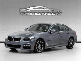 Used 2017 BMW 5 Series 530i xDrive M Sport 360 Cam HUD Park Tronic for sale in Concord, ON