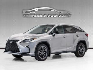 Used 2017 Lexus RX 350 F Sport 3 Navigation, Heads Up Display, Mark Levinson Sound for sale in Concord, ON