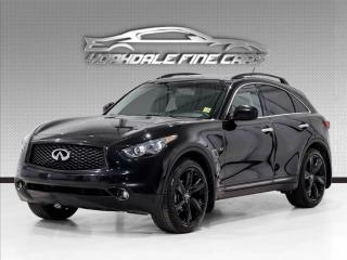 Used 2017 Infiniti QX70 S AWD Navigation, Camera, Roof, Loaded for sale in Concord, ON