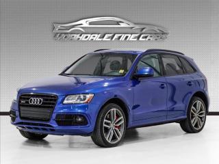 Used 2017 Audi SQ5 Quattro 4dr 3.0T Progressiv Navigation, Camera, Clean CarFax for sale in Concord, ON