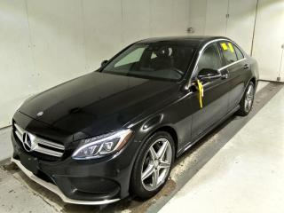 Used 2017 Mercedes-Benz C-Class C300 4MATIC Burmester Sound, AMG Pkg, 360 Camera, Loaded for sale in Concord, ON
