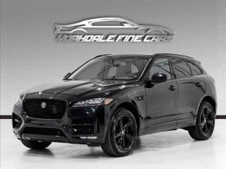 Used 2018 Jaguar F-PACE 25t AWD R-Sport Red Interior for sale in Concord, ON