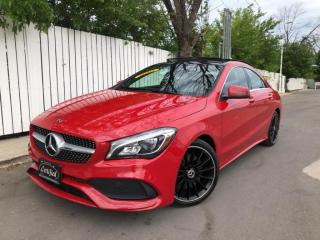 Used 2018 Mercedes-Benz CLA250 4MATIC AMG PREMIUM PLUS SPORT PKG-PANOROOF-CAMERA-50KMS for sale in Toronto, ON