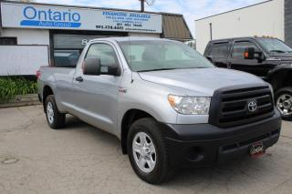 Used 2013 Toyota Tundra Reg Cab 8ft Long box 5.7L iForce engine for sale in Mississauga, ON